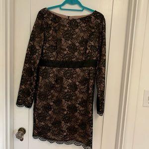 Trina Turk Silk Lace Dress | 12